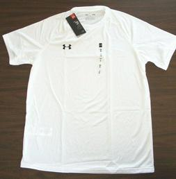 Under Armour Men's Tech Short Sleeve T-Shirt  1228539  White