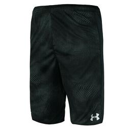 Under Armour Men's Woven Graphic Shorts Black Dot Print M