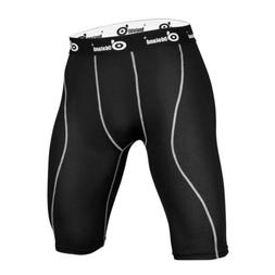 Men Sports Compression Wear Under Base Layer Shorts Pants At