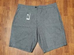 Mens Quiksilver Charcoal Gray Lightweight Shorts Size 40 NWT