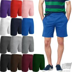 Mens Sweat Shorts Fleece Track Pants Casual Lounge HIP HOP G