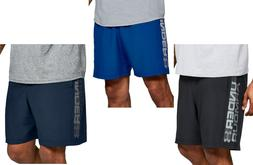 Mens Under Armour UA Graphic Wordmark Heatgear Shorts - 2XL/
