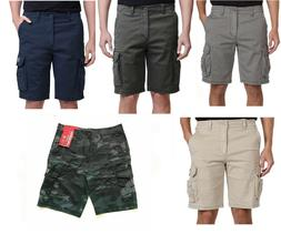 New Men's Unionbay Cargo Shorts with Flex Waist -Various ***