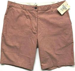 """NEW DOCKERS Men's Perfect Shorts Classic Fit 9.5"""" Inseam Sma"""