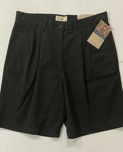 """NEW Men's Dockers Relaxed Fit Pleated Shorts Size 32 9"""" Inse"""