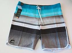 NWT Quiksilver Men's 40  Board Shorts Everyday Striped Stret