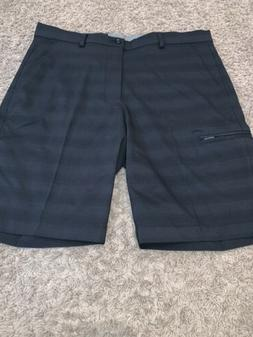 NWT Men's Greg Norman Size 34 Black Performance Fabric Gol