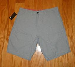 Quiksilver Shorts NWT Size 34 Blue Gray Men's Skate Surf Sty
