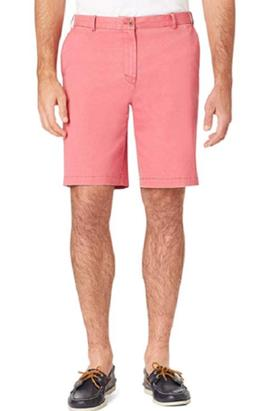 IZOD Saltwater Red Men's Relaxed Classic Stretch Washed Chin