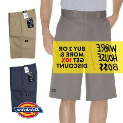 "DICKIES SHORTS 42283 MENS 13"" LOOSE FIT WORK SHORTS CELL PHO"