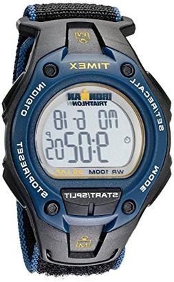 Timex Men's T5K413 Ironman Classic 30 Oversized Black/Blue F