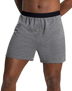 Hanes Men's TAGLESS® ComfortSoft® Knit Boxers with Comfort