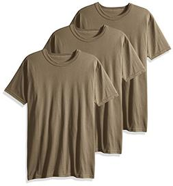 Soffe Men's 3-Pack Short Sleeve Crew Neck Military T-Shirt,