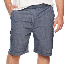 The Foundry Big & Tall Men's  Flex Cargo Stretch Shorts Colo