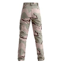 iOPQO Men's Trousers, Sports Elastic Casual Camouflage Multi