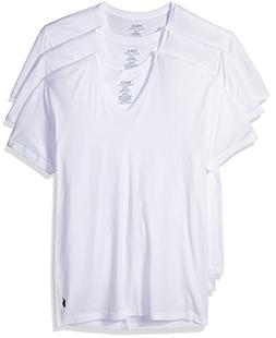 Men's Polo Ralph Lauren V-Neck T-Shirt  White Small