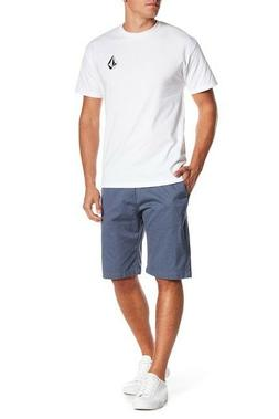 Volcom Vmonty Modern Fit Mens Flat Front Casual Shorts