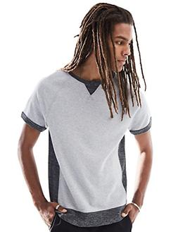 Rebel Canyon Young Men's Short Sleeve Crewneck Side Contrast
